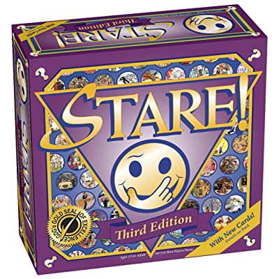 Stare Family Board Game - 3rd Edition for Ages 14 and up: Toys & Games