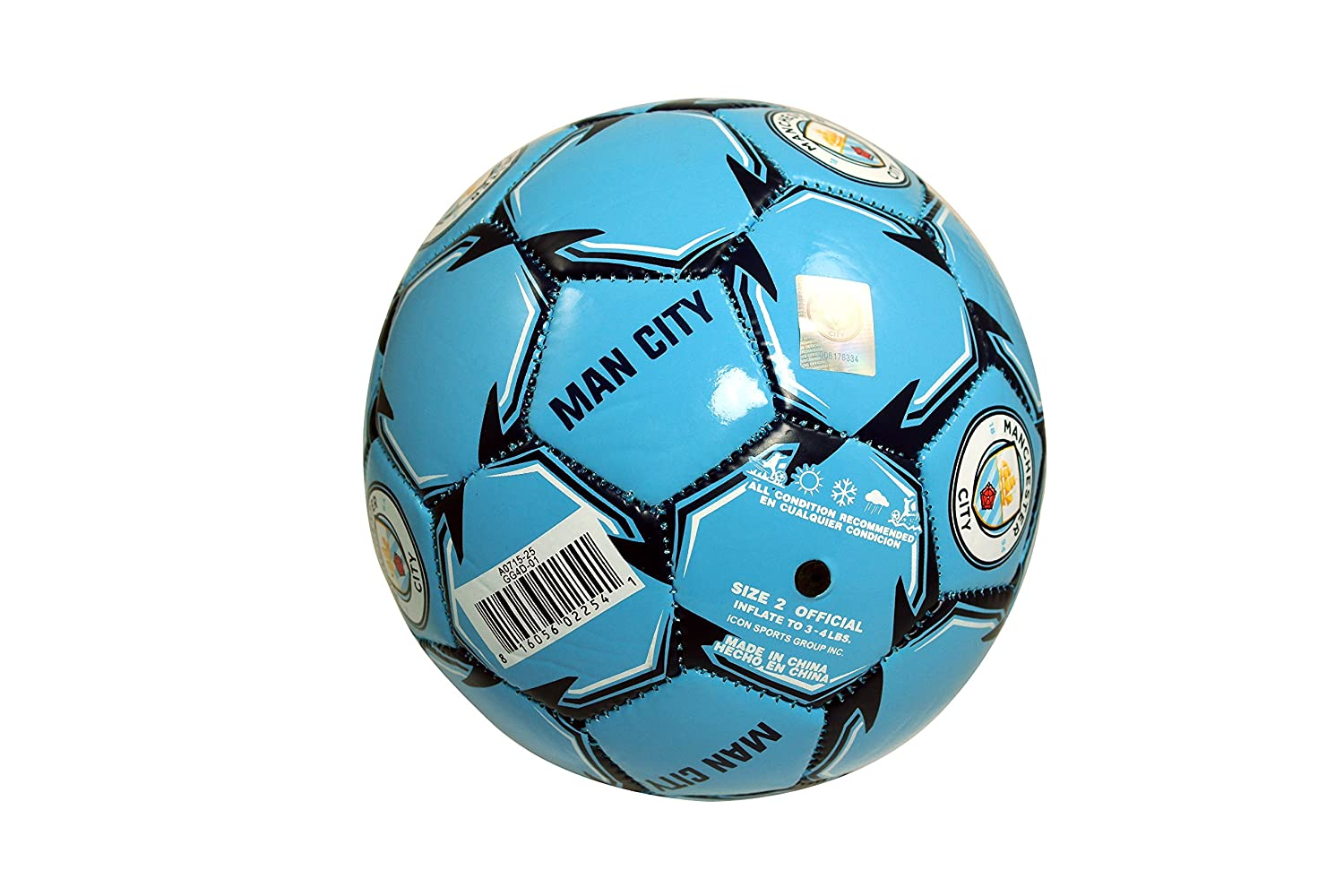 Authentic Official Licensed Soccer Ball size 2 Manchester City F.C