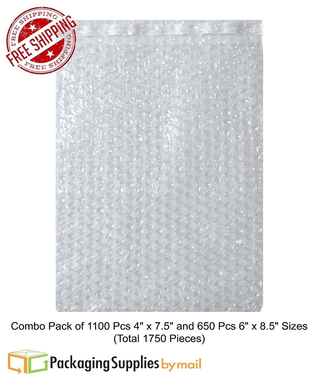 Bolsas de burbujas para envío, 1100 unidades de 10,16 x 19 ...