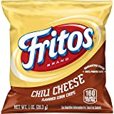 Fritos Corn Chips, Chili Cheese, 1 Ounce (Pack of 40)