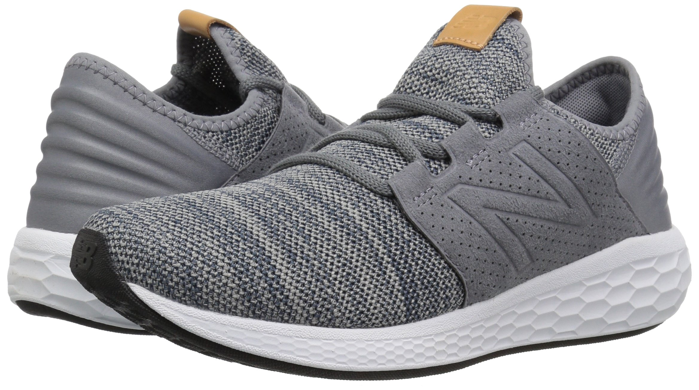New Balance Men's Cruz V2 Fresh Foam Running Shoe, Gunmetal / Thunder, 7 D US by New Balance (Image #5)