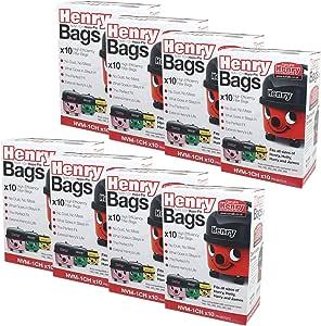 Bolsas de polvo Numatic Henry 604015 NVM-1CH de tejido HepaFlo ...