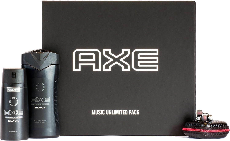 Axe Music Set de regalo con auriculares, Amazon Music suscripción ...