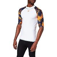 ARENA 003128 M Rash Vest S/S Allover Hombre