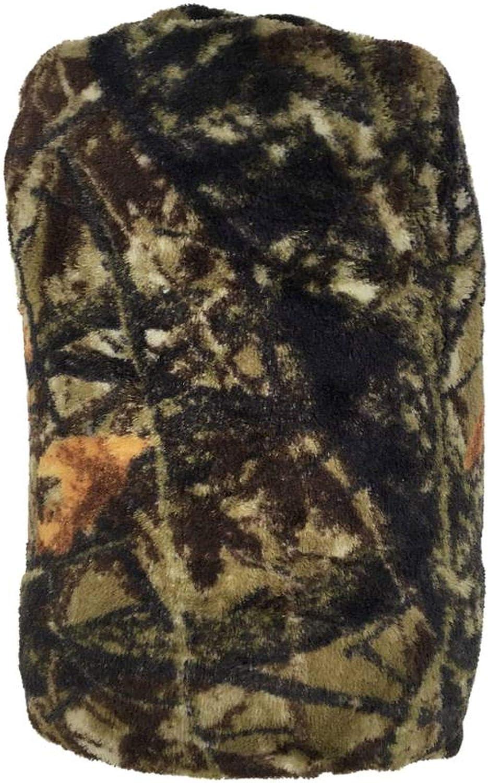 "Green Camo Green Stitching MAINSTAYS NEW Fleece Throw Blanket 50"" X 60"" Print"