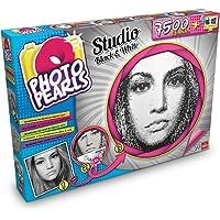 Photo Pearls - 7500 Black & White, Juego para Crear mosaicos con Rejilla (Goliath 35886006)