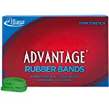 """Alliance Rubber 66625 Advantage Rubber Bands Size #62, 1 lb Box Contains Approx. 450 Bands (2 1/2"""" x 1/4"""", Green)"""