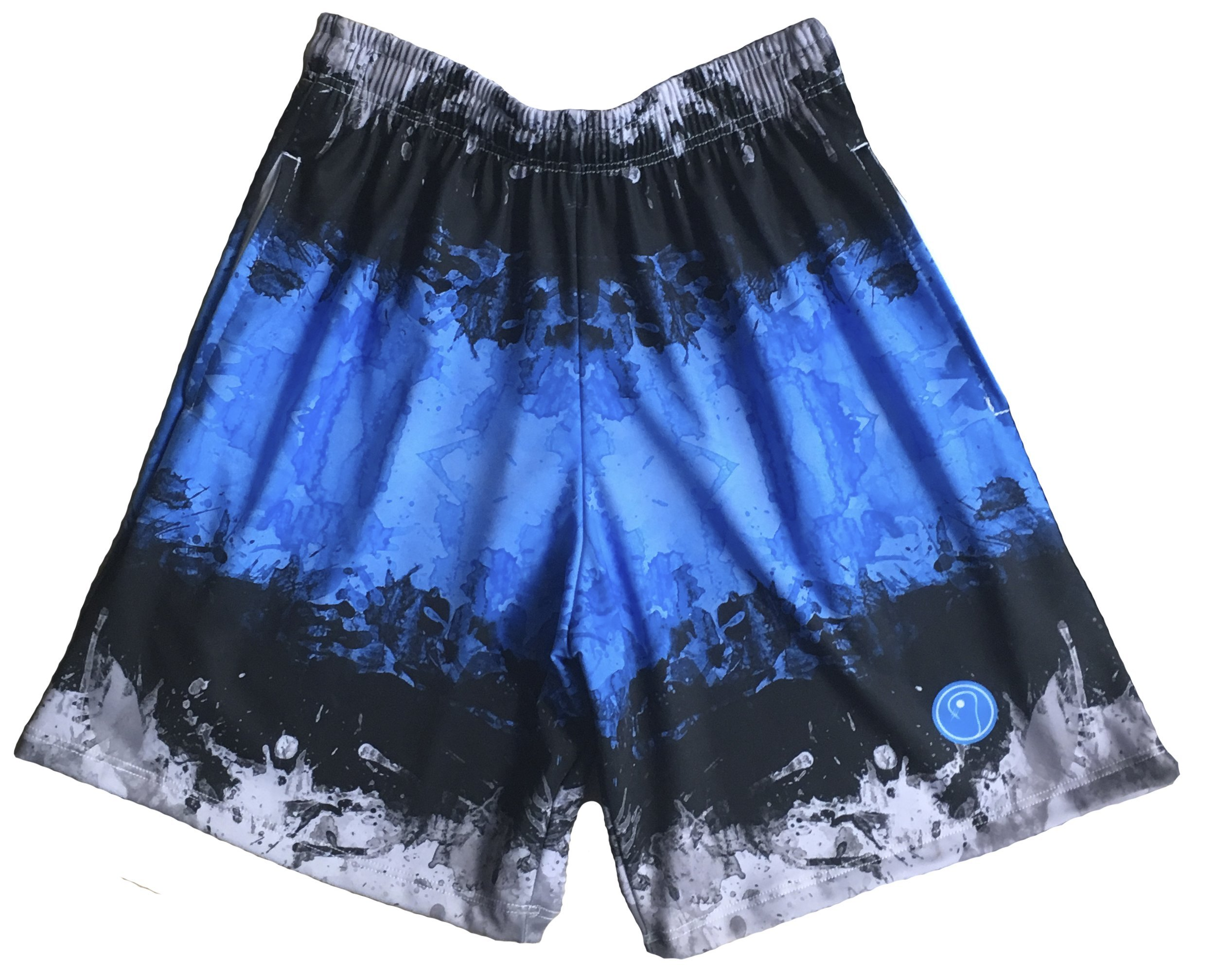 LAX SO HARD Boys Graphic Stripe Lacrosse Shorts, Youth Small