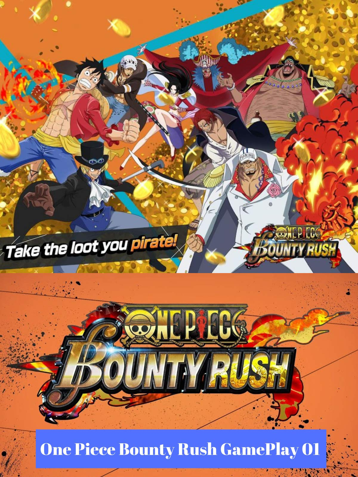 Watch One Piece Bounty Rush Gameplay 01 | Prime Video