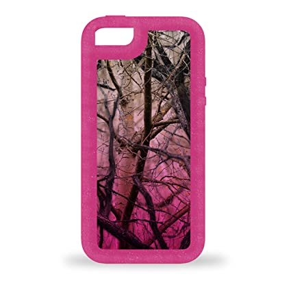 huge discount 21355 909e2 Impact Gel Xtreme Armour I5-SMPC-204 Phone Case for iPhone 5/5S Single Mold  Color, Pink Camo
