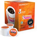 Dunkin Donuts K-cups Dark Roast - 24 Kcups for Use in Keurig Coffee Brewers 8.46 Oz