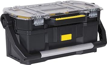 STANLEY STST1-70317 - Caja de herramientas con organizador, 32 x 55.6 x 24.9 cm: Amazon.es: Bricolaje y herramientas