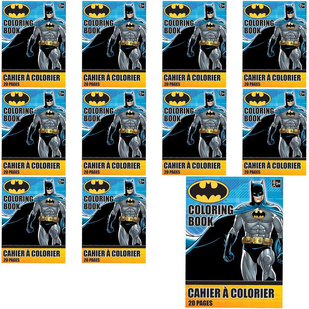 Amazon.com: HollyDel Batman Coloring Books 48ct; Novelty ...