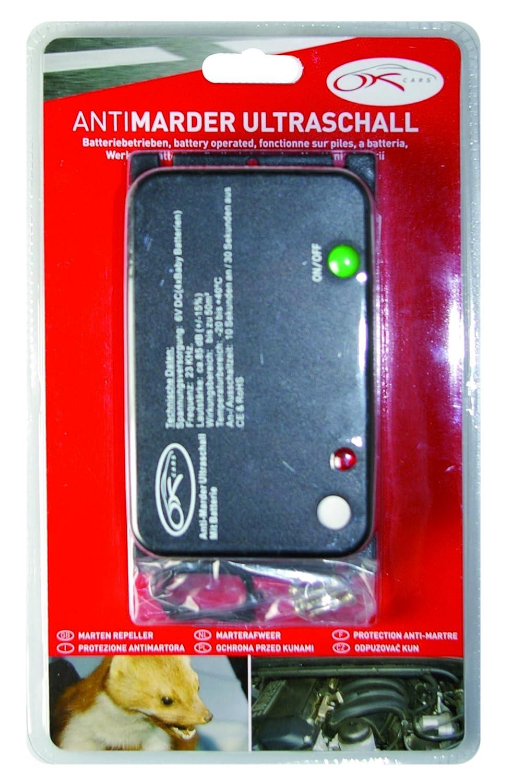 OK Cars AZ-KFZ-207Repousse-martres à ultrasons sur Pile Kaufmann Neuheiten GmbH