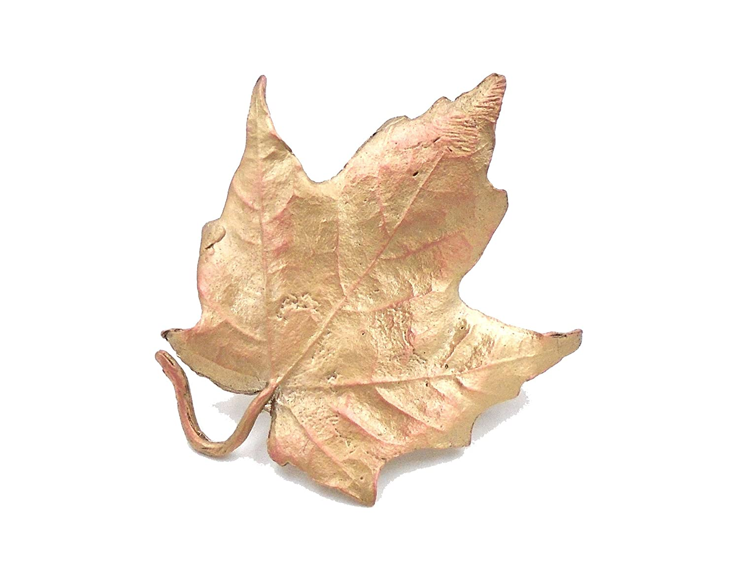 """Maple Leaf"" Tack Pin By Michael Michaud for Silver Seasons"