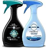 Febreze Fabric Refresher, Odor Eliminator Extra Strength + Unstopables, Fresh Scent, 2 Count
