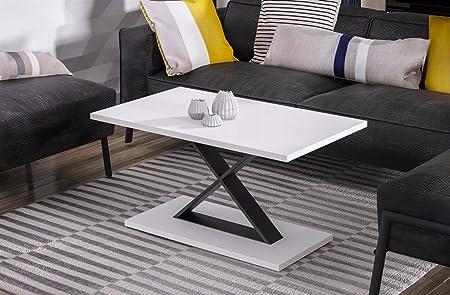 Endo Couchtisch Lars Wohnzimmertisch Tisch Industrial 100x60