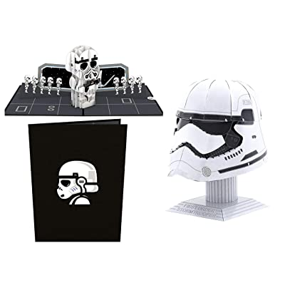 ReBL LLC Star Wars Gift Bundle Lovepop 3D Pop Up Card with Metal Earth Metal Model Kit (Stormtrooper): Toys & Games [5Bkhe0206790]