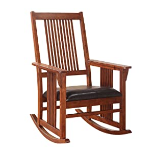 Acme Furniture 59214 Kloris Rocking Chair, Tobacco