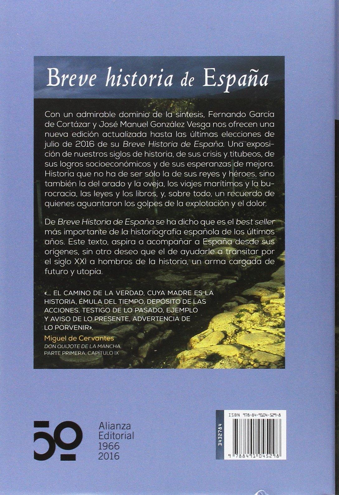 Breve historia de España (Libros Singulares (LS)): Amazon.es ...