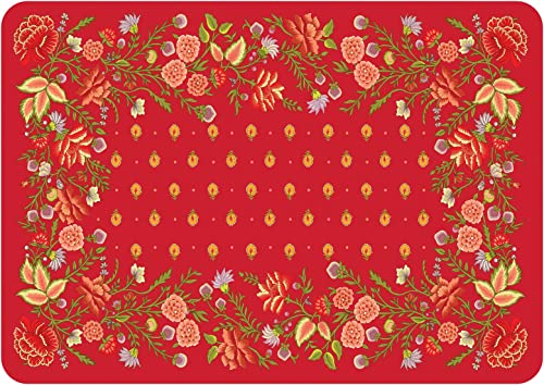 Premium Comfort Favenay Mat, 22 by 31-Inch, Red