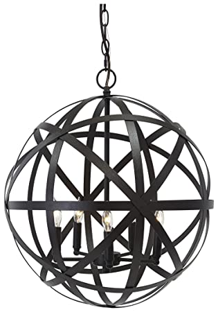 signature design by ashley l000008 metal pendant light antique bronze finish