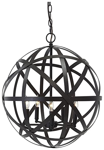 signature design by ashley l000008 metal pendant light antique bronze finish
