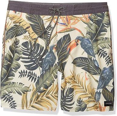 RIP CURL Cotton Swim Trunks Elastane Mens Swimwear Bermudas Shorts Board Shorts