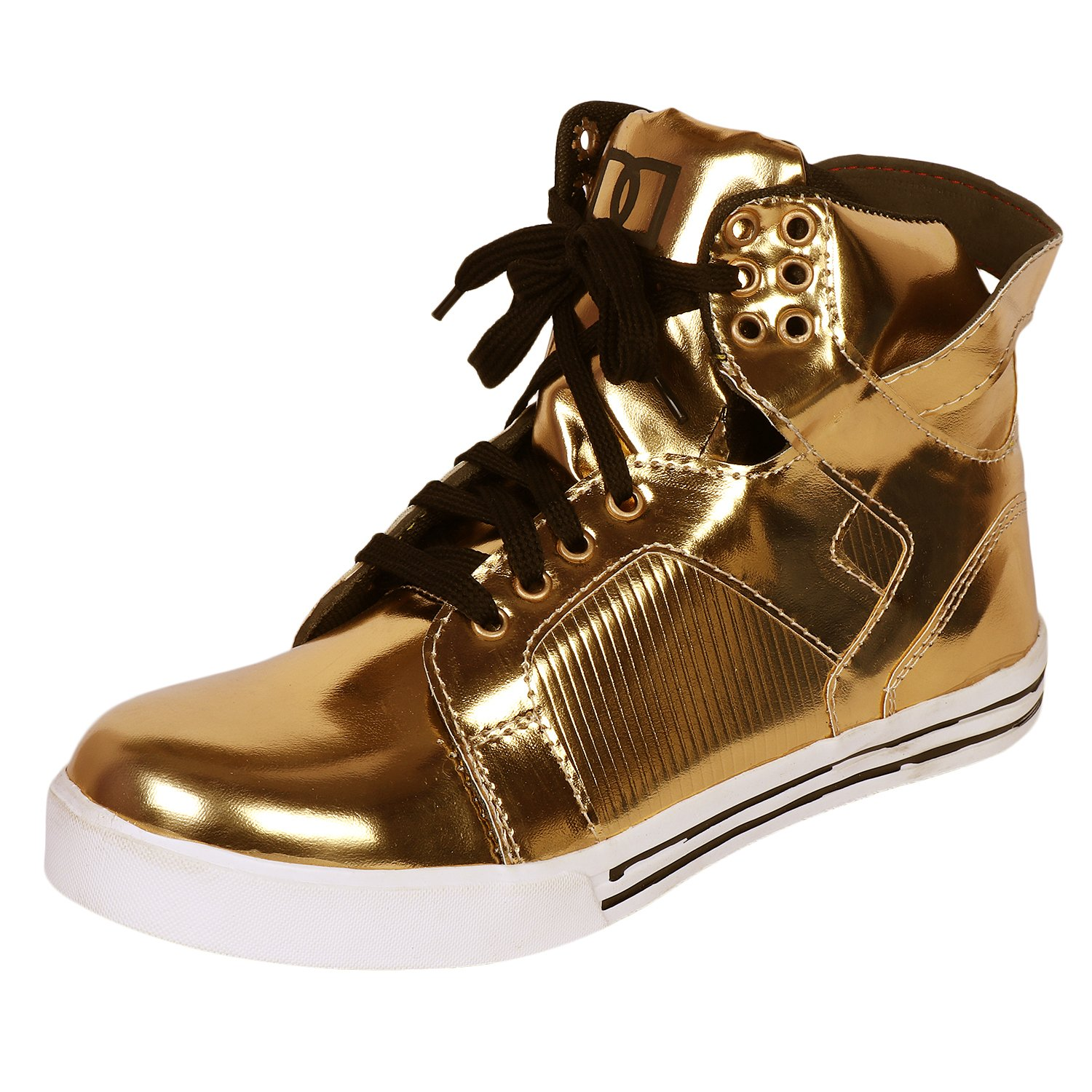 golden jordan shoes