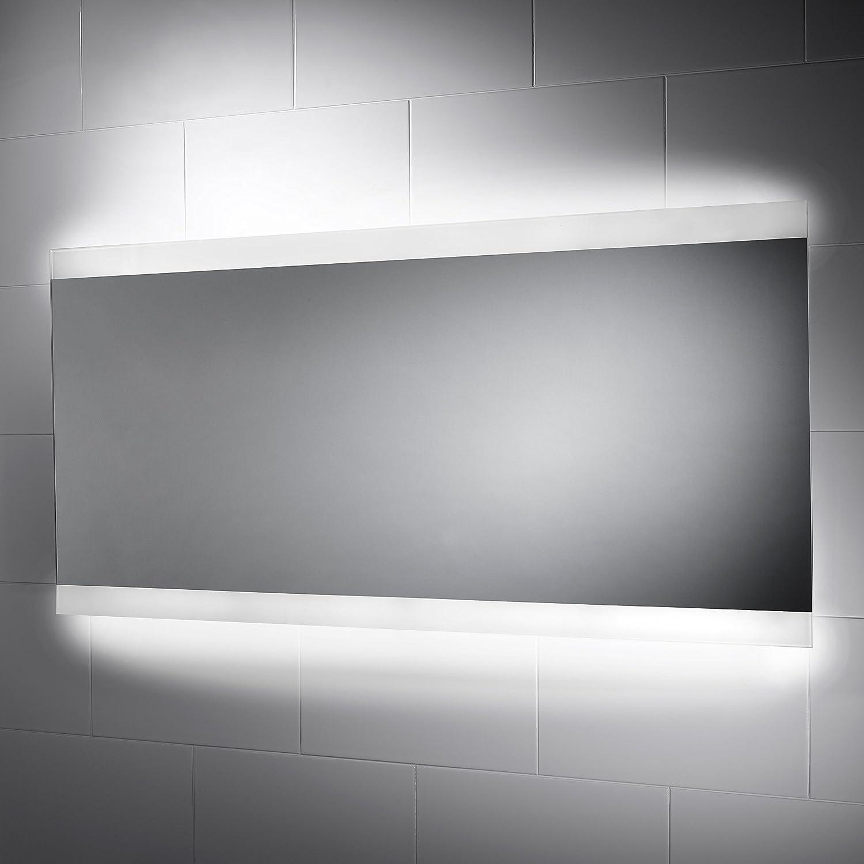 Panama Illuminated Bathroom Mirror 1250mm(w) x 600mm (h) with Sensor ...