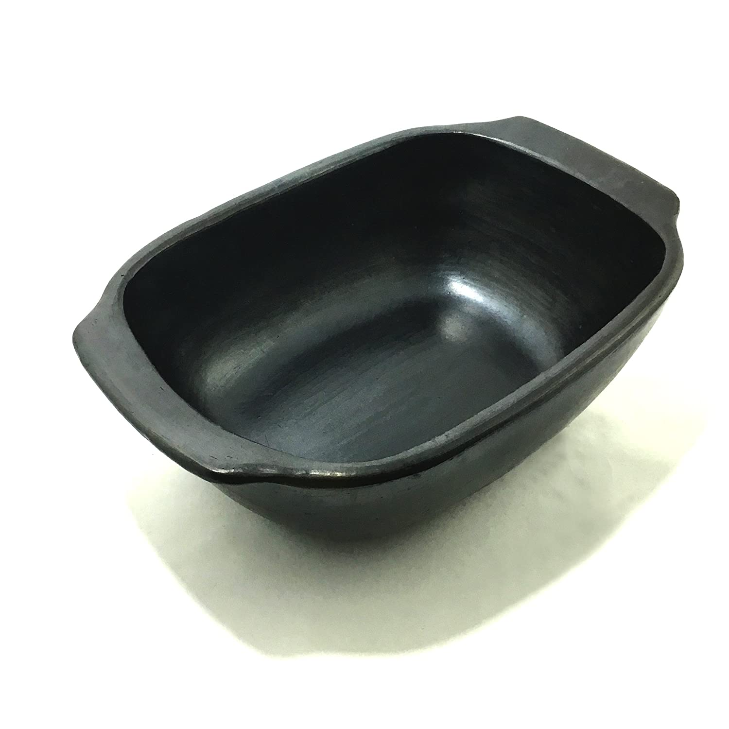 Black Clay, La Chamba Loaf Pan - Small Ancient Cookware