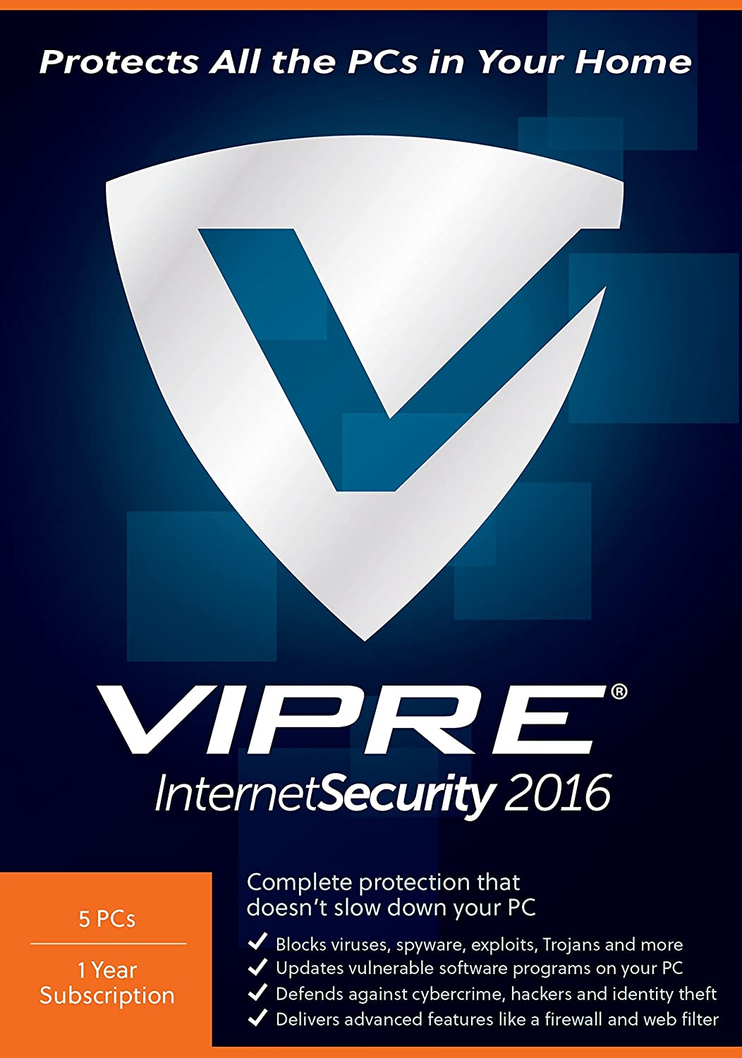 ThreatTrack Security VIPRE Internet Security 2016 (5-Users)