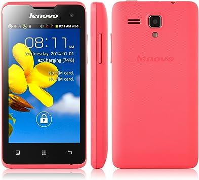 Teléfono móvil 3G Lenovo A396 Libre Smartphone, 4.0 Pulgadas, TFT ...