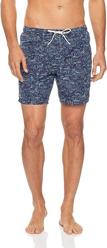 Lacoste Men's Printed Swim Shorts