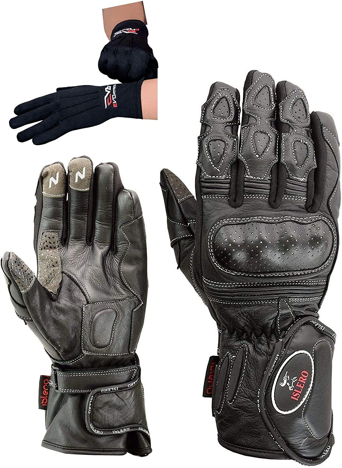 Bike It Motorcycle Motorbike Inner Gloves Thermal Water Resistant Winter New