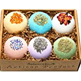 Amazon Price History for:Mothers Day Bath Bombs Gift Set All Natural & Organic / Bath Bombs Bubble Bath Safe for Kids - Bath Bomb For Women with Bath Salts / Dead Sea Salt - Safe Bath Bombs Set - Bath Bombs Kit for Her