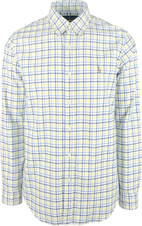 Polo RALPH LAUREN Big & Tall Camisa Oxford de ajuste clásico ...