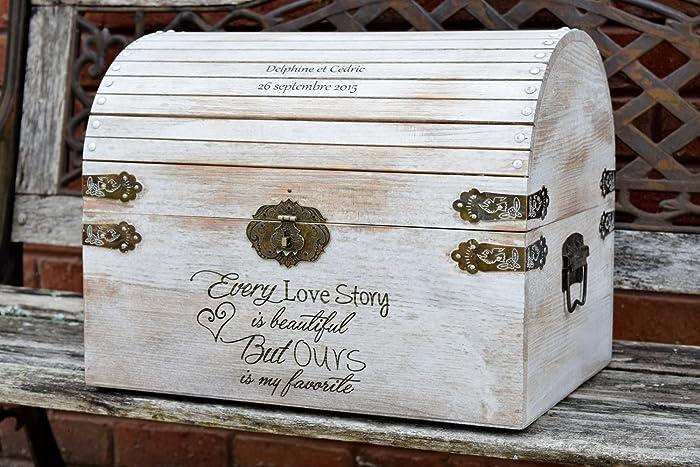 Amazon Distressed Card Box