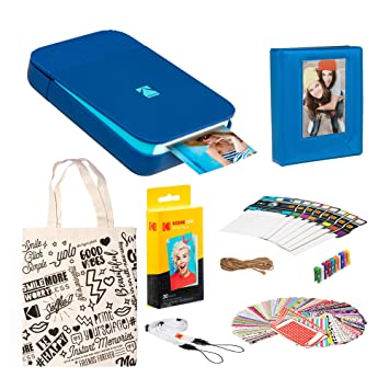 Amazon.com: KODAK Smile Impresora digital instantánea (azul ...