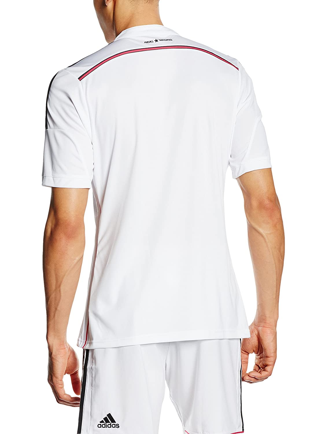 2dde14f11 adidas First Team Real Madrid 2014 2015 Official Shirt  adidas   Amazon.co.uk  Sports   Outdoors