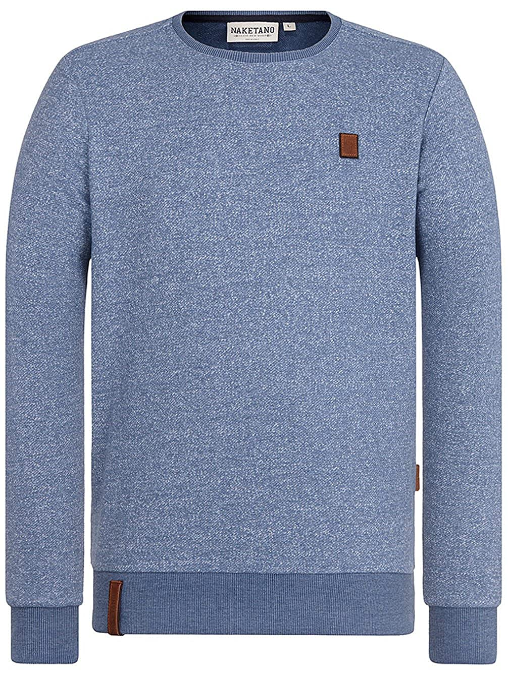 Naketano Herren Sweater Tadellos Abgespritzt III Sweater