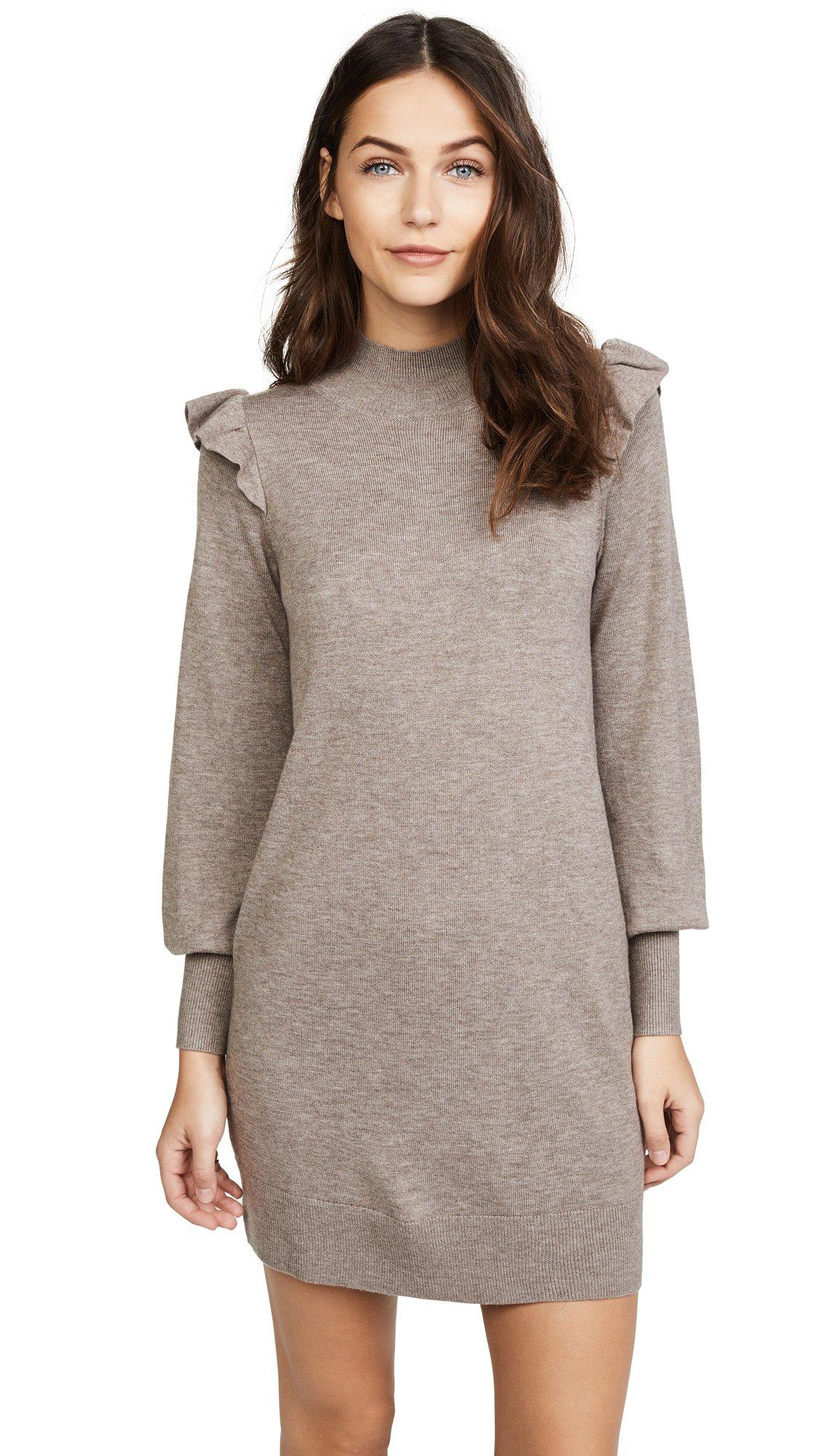 Joie Women's Catriona Dress, Heather Mushroom, X-Small