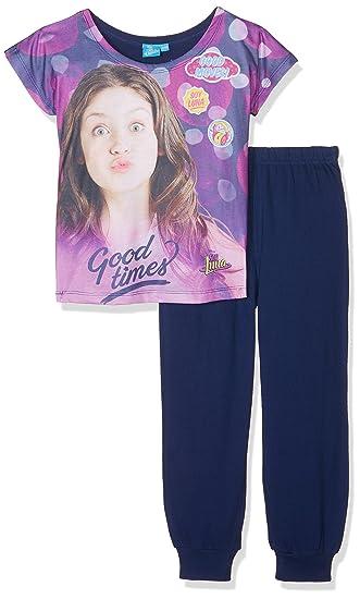 Soy Luna Pyjama Set, Conjuntos de Pijama para Niñas, Bleu (Navy) 4