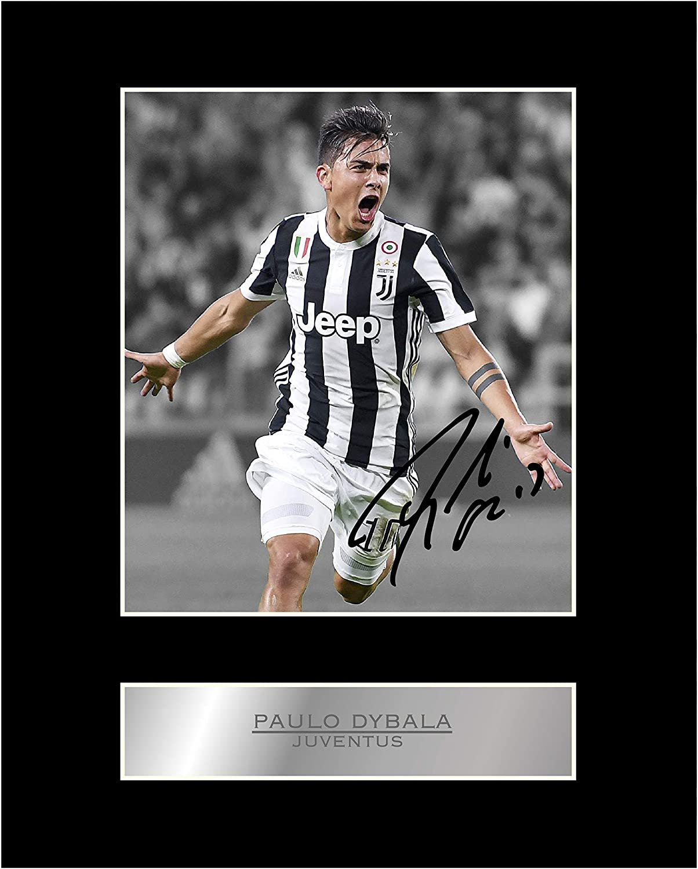 Foto firmada por Paulo Dybala Juventus # 1