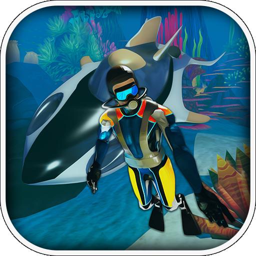 (Sci Fi Underwater Survival - Diving Simulator 2018)
