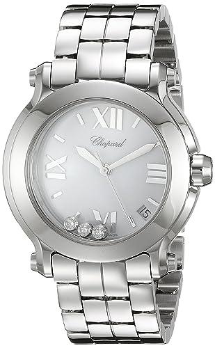 CHOPARD RELOJ DE MUJER CUARZO SUIZO 36MM CORREA Y CAJA DE ACERO 278477-3013: Chopard: Amazon.es: Relojes