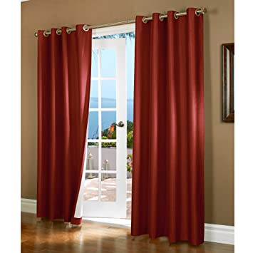 Curtains Ideas curtain panels 72 length : Amazon.com: Gorgeous Home *DIFFERENT SOLID COLORS & SIZES* (#72) 1 ...