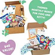 RescueBox Subscription - Monthly Premium Toys, Treats, Accessories For Your Pet: Small Dog (<20l