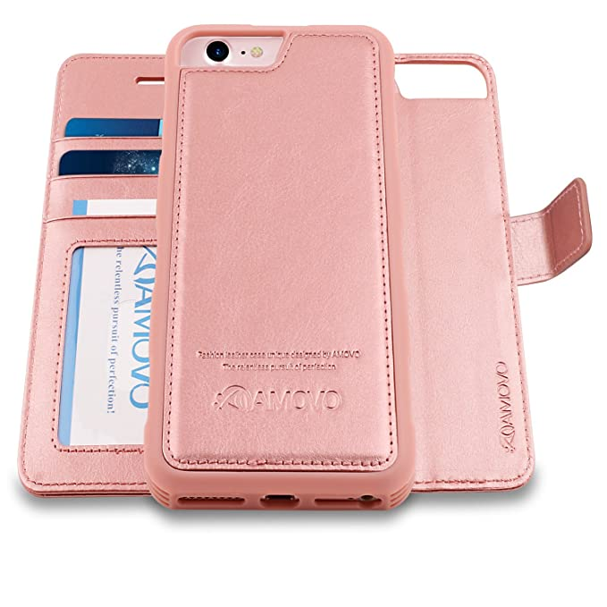 9ab59ff18ff Amazon.com  AMOVO Case for iPhone 8  2 in 1