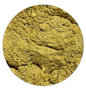 Ultimate Baker All Natural Peridot Food Color Shine - Kosher Peridot Food Coloring Powder for Glossy Airbrush or Gel Paste Cake Decorating (12grams)